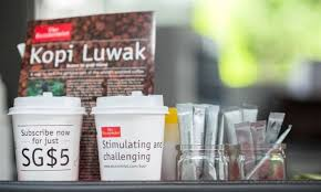 LOOK The Economist Lures New Readers With Kopi Luwak