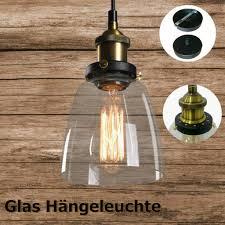 hängeleuchte schatten pendelleuchte glas retro hängele für esszimmer wohnzimmer küche max 40w industrie design