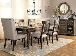 Raymour Flanigan Furniture Sale 7 Dining Set Oak Gray With Regard To And Sets Inspirations