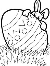 Coloring Pages Easter Basket Pictures Of Rabbits Free Printable Kids Games Activities Too Large Size