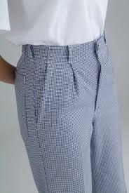 pantalon cuisine femme pantalon de cuisine pied de poule en coton