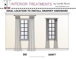 No Drill Curtain Rods Ikea by Coffee Tables Pictures Of Different Ways To Hang Curtains No