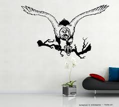 home décor wandtattoo adler eagle flagge banner amerika usa