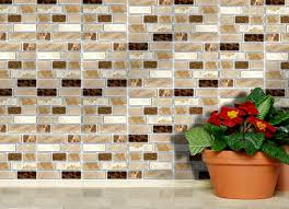 stick on tiles for kitchen walls amazing self adhesive wall tiles