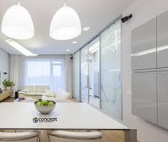 trennwand einrichtungsidee im küchen design 2l concept