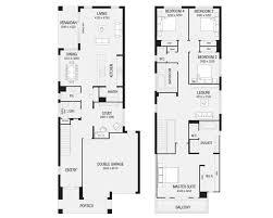 Floor plan of a shotgun house