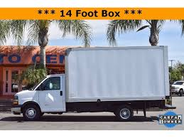 100 14 Foot Box Truck 2017 Chevrolet Express For Sale In Fontana CA Commercial