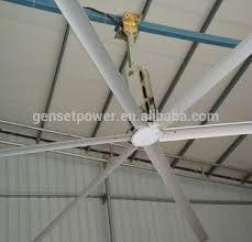 24ft hvls large diameter industrial ceiling fans for railway
