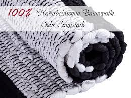 badematte set 2er groß 80 x 50 cm 100 baumwolle badteppich badvorleger badezimmerteppich chindi