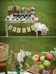 Picture Of Relaxed Diy Outdoor Rustic Bridal Shower