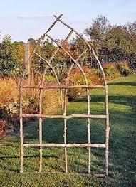 Lovely And Rustic For Veg Garden Much Prettier Than An Ordinary TrellisDiy Arch