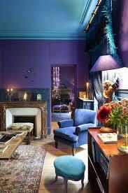 chambre bleu et mauve 1001 idées pour la décoration d une chambre bleu paon deco