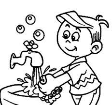 Free Coloring Page Hand Washing For Kids Pages New At Printable Sheet Grootfeest
