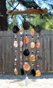 Driftwood Christmas Trees Devon by Halloween Mobile Sea Shell Wind Chime Driftwood Wind Chime Sea