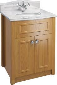 Shabby Chic Bathroom Vanity Unit by Solid Oak Bathroom Vanity Unit