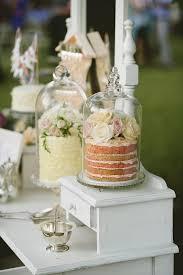Vintage Wedding Dessert Table Idea