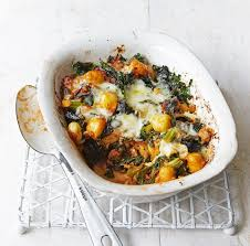 Pumpkin Gnocchi Recipe Uk by Sausage And Kale Gnocchi Bake Recipe Gnocchi Kale And Sausage