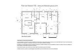 plan de maison en u type 4 98 m d architecte 113 villa provençale