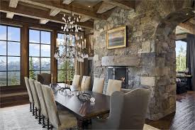 country rustic dining room by jerry locati
