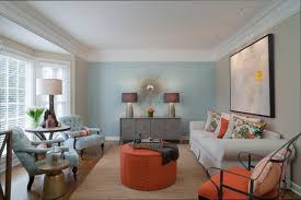 Living Room With Blue Accent Wall Homemini Scom Also Paint Kitc Full Size