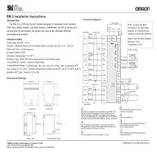 Sti Ms4800 Light Curtain Manual by Rm 2 Rm 2ac Rm 2ac Ip Omron United States