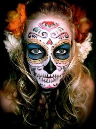 Halloween Half Mask Makeup by 415 Best Day Of The Dead Make Up Images On Pinterest Halloween