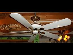 Casablanca Ceiling Fans With Uplights by Casablanca Artisan Ceiling Fan Hd Remake Youtube