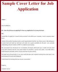 How Make A Cover Letter For Job Brilliant Ideas Of Application With