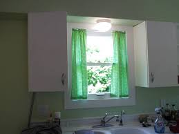 Kitchen Curtain Ideas Above Sink by Cabinet Over The Sink Kitchen Curtains Kitchen Window Treatment