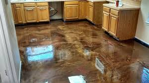 Epoxy Flooring Comes In All Shapes And Sizes Whether You Choose River Rocks Stamped Concrete Or Acid Stain Gives It That Great Finishing Sheen