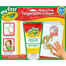 Crayola Bathtub Fingerpaint Soap Non Toxic by Amazon Com Crayola My First Crayola Mess Free Fingerpaint And