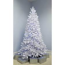 Pre Lit Pop Up Christmas Tree Uk by Deluxe Pine Pre Lit Multi Function White Christmas Tree With White