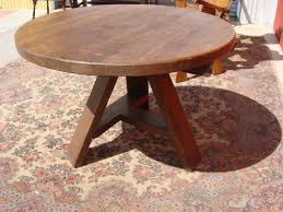 Fabulous Rustic Round Kitchen Table Sets Beautiful Wood Dining