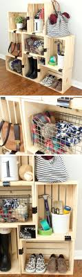 Easy Crate Storage With Binder Clips