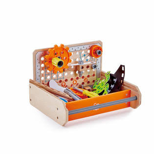Hape Science Experiment Toolbox Toy - 32pcs