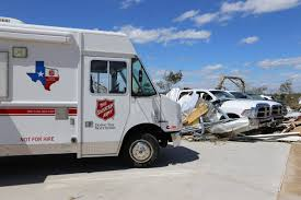 100 Salvation Army Truck Tornadoes Texas