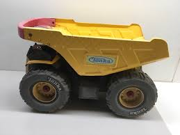 100 Tonka Dump Truck Metal Extra Large Yellow Red Plastic Handle 2004