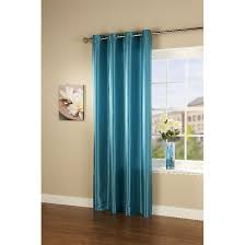 Faux Silk Eyelet Curtains by Passionate Faux Silk Eyelet Curtain Panel In Teal Green