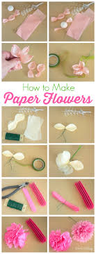 Learn How To Make Tissue Paper Flowers With This Easy Step By Tutorial