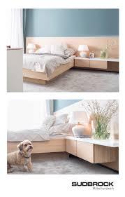 schlafzimmer modern natürlich bett fokus sudbrock