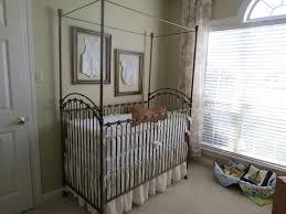 decorating white canopy crib by bratt decor venetian crib plus