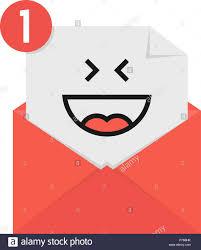 Abierto Sobre Icono De Correo Nuevo Carta Notificación De Mensaje