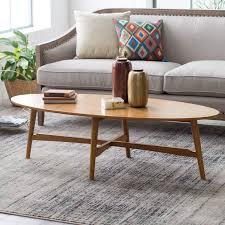 100 Living Room Table Modern Belham Darby Mid Century Coffee Pecan Finish