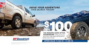 BFGoodrich Rebate - Evans Tire & Service Centers New Truck Owner Tips On Off Road Tires I Should Buy Pictured My Cheap Truck Wheels And Tires Packages Best Resource Car Motor For Sale Online Brands Buy Direct From China Business Partner Wanted Tyres The Aid Cheraw Sc Tire Buyer Online Winter How To Studded Snow Medium Duty Work Info And You Can Gear Patrol Quick Find A Shop Nearby Free Delivery Tirebuyercom 631 3908894 From Roadside Care Center