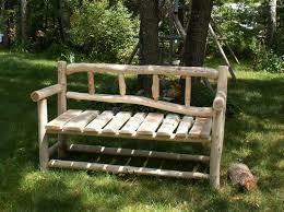 Best 25 Rustic Outdoor Benches Ideas On Pinterest Intended For Plan 10