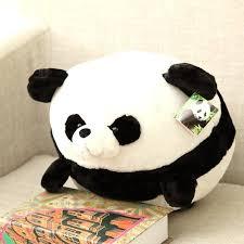 line Shop Fat Pet Fluffy Plush Panda Doll Toys Pembroke Pillow