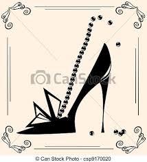 Shoe Stock Illustration Images 77496 Illustrations