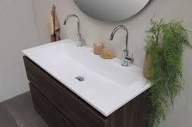 waschtisch mit zwei waschbecken im bad sinnvoll ideen