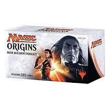 amazon com mtg magic the gathering origins deck builders toolkit