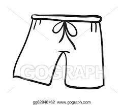 Shorts Clip Art Royalty Free GoGraph